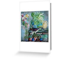 Table of a Plant Lover Greeting Card