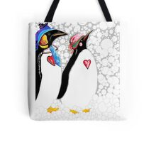 Cold Feet Warm Heart Tote Bag