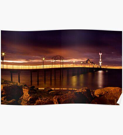 Brighton Sunset Poster