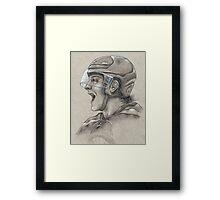 Torey Krug - Boston Bruins Hockey Portrait Framed Print