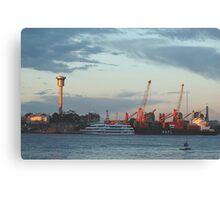 The Docks , Sydney Harbour,Australia Canvas Print