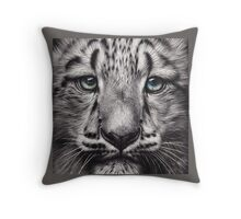 Snow baby Throw Pillow