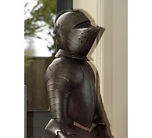 knight in armour Photographic Print