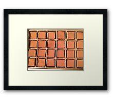 Chocolate Truffles Photo Framed Print
