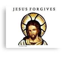 Jesus Forgives Canvas Print