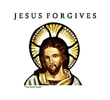 Jesus Forgives Photographic Print