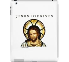 Jesus Forgives iPad Case/Skin