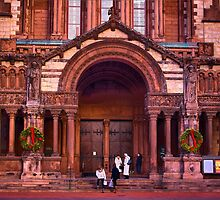 Christmas at Trinity Church  of Boston  by LudaNayvelt