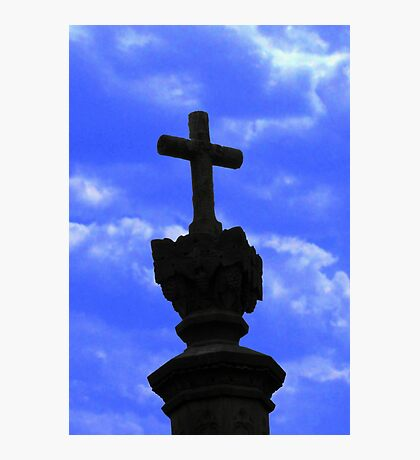 Cross of Salvation Photographic Print