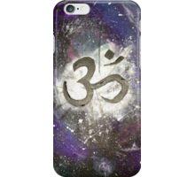 Galaxy Om iPhone Case/Skin