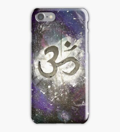 Galaxy Om iPhone Case/Skin