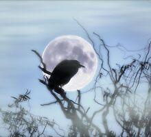 Spooky Moon by BluAlien