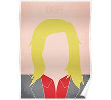 Minimalist Leslie Knope Poster