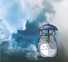 Totoro by abigailahn