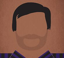 Minimalist Tom Haverford by jyingling