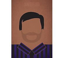 Minimalist Tom Haverford Photographic Print