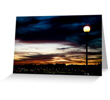 empty sky Greeting Card