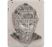 Tuukka Rask - Boston Bruins Hockey Portrait iPad Case/Skin