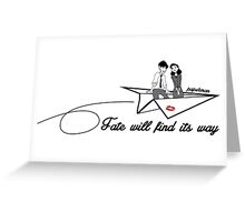 Paperman - Fate will find its way Greeting Card