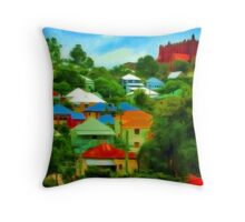 Paddington, Brisbane. Throw Pillow