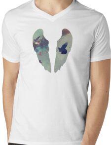 Flock of Birds Mens V-Neck T-Shirt