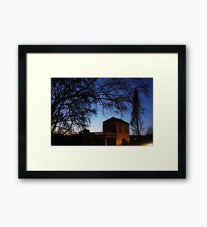 Bet Soutou Framed Print
