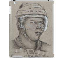Carl Soderberg - Boston Bruins Hockey Portrait iPad Case/Skin