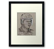 Carl Soderberg - Boston Bruins Hockey Portrait Framed Print