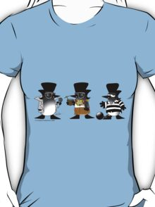 Penguins with Porkchops T-Shirt