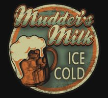 Mudder's Milk Vintage Sign One Piece - Long Sleeve