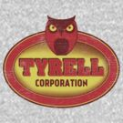 Tyrell Corporation Vintage Sign by robotrobotROBOT