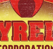 Tyrell Corporation Vintage Sign Sticker