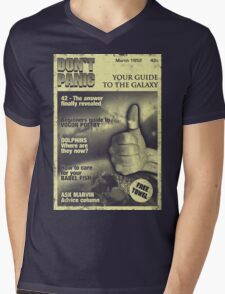Guide to the Galaxy Mens V-Neck T-Shirt