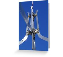 Parliament House Flagpole Greeting Card