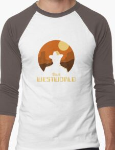 Visit Westworld Men's Baseball ¾ T-Shirt