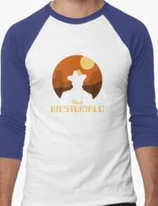 Visit Westworld Men's Baseball ¾ T-Shirt