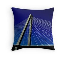 Spanning the World  Throw Pillow