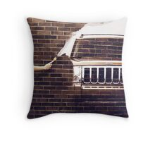 Paint Your Own Roads Throw Pillow