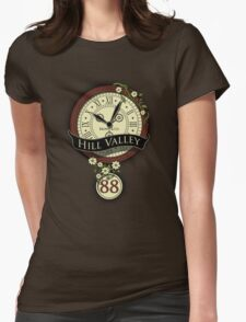 Hill Valley Womens Fitted T-Shirt