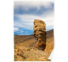 Los Roques Mount Teide  Poster