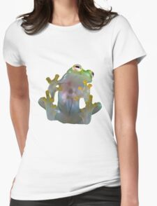 Glass Frog Womens Fitted T-Shirt