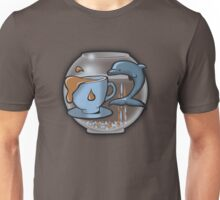 Tea and Dolphins Unisex T-Shirt