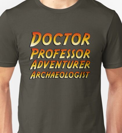 Indiana Jones Type Unisex T-Shirt