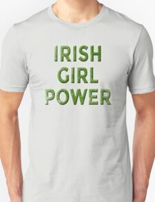 IRISH GIRL POWER WEATHERED T-Shirt