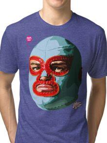 EL LUCHADOR EXTRAORDINAIRE Tri-blend T-Shirt