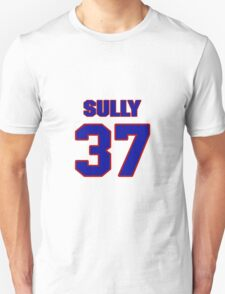 National football player Ivory Sully jersey 37 T-Shirt