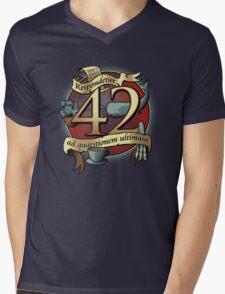 42 Mens V-Neck T-Shirt