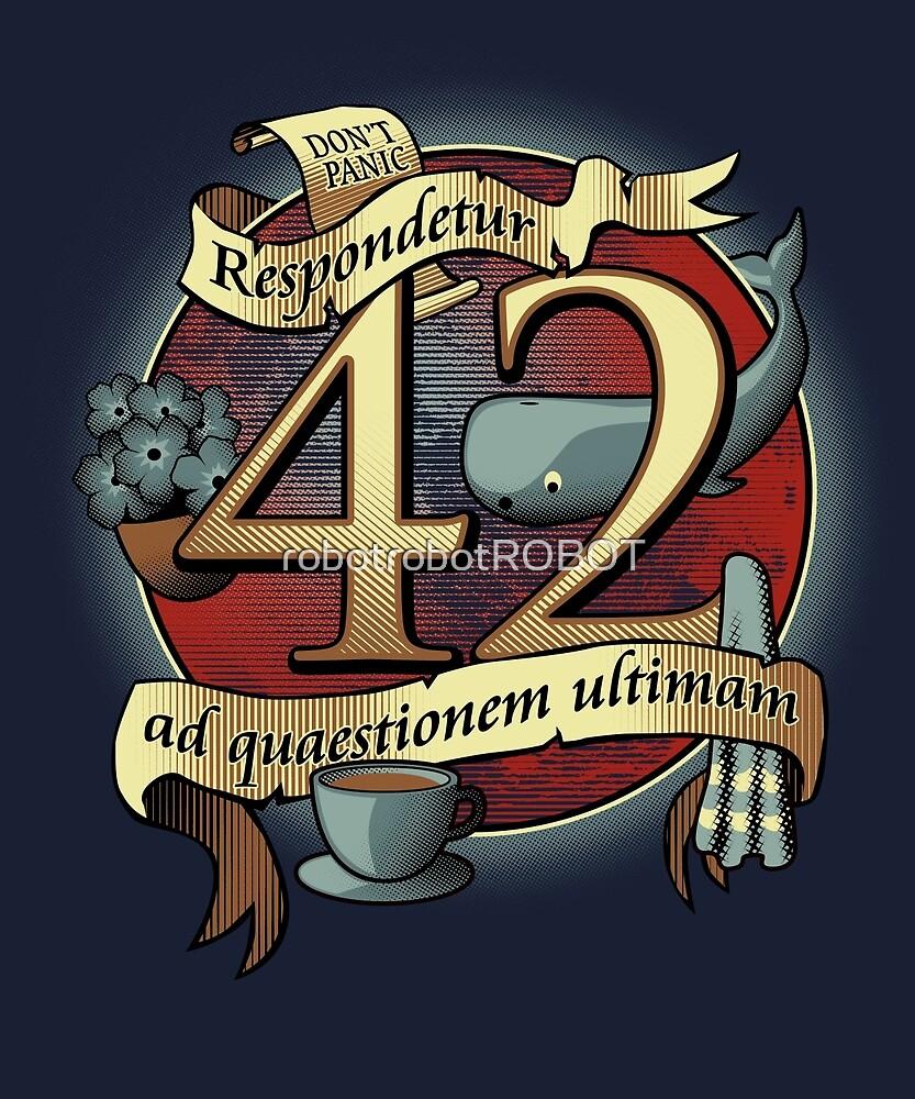 42 by robotrobotROBOT