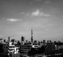 Tokyo Tower. by chombee