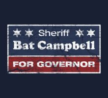 Bat Campbell for Governor One Piece - Short Sleeve